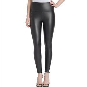 Lysse Black Vegan Leather Leggings
